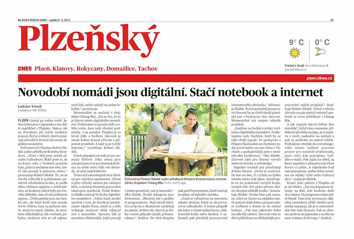 Digitální nomádství Mladá fronta