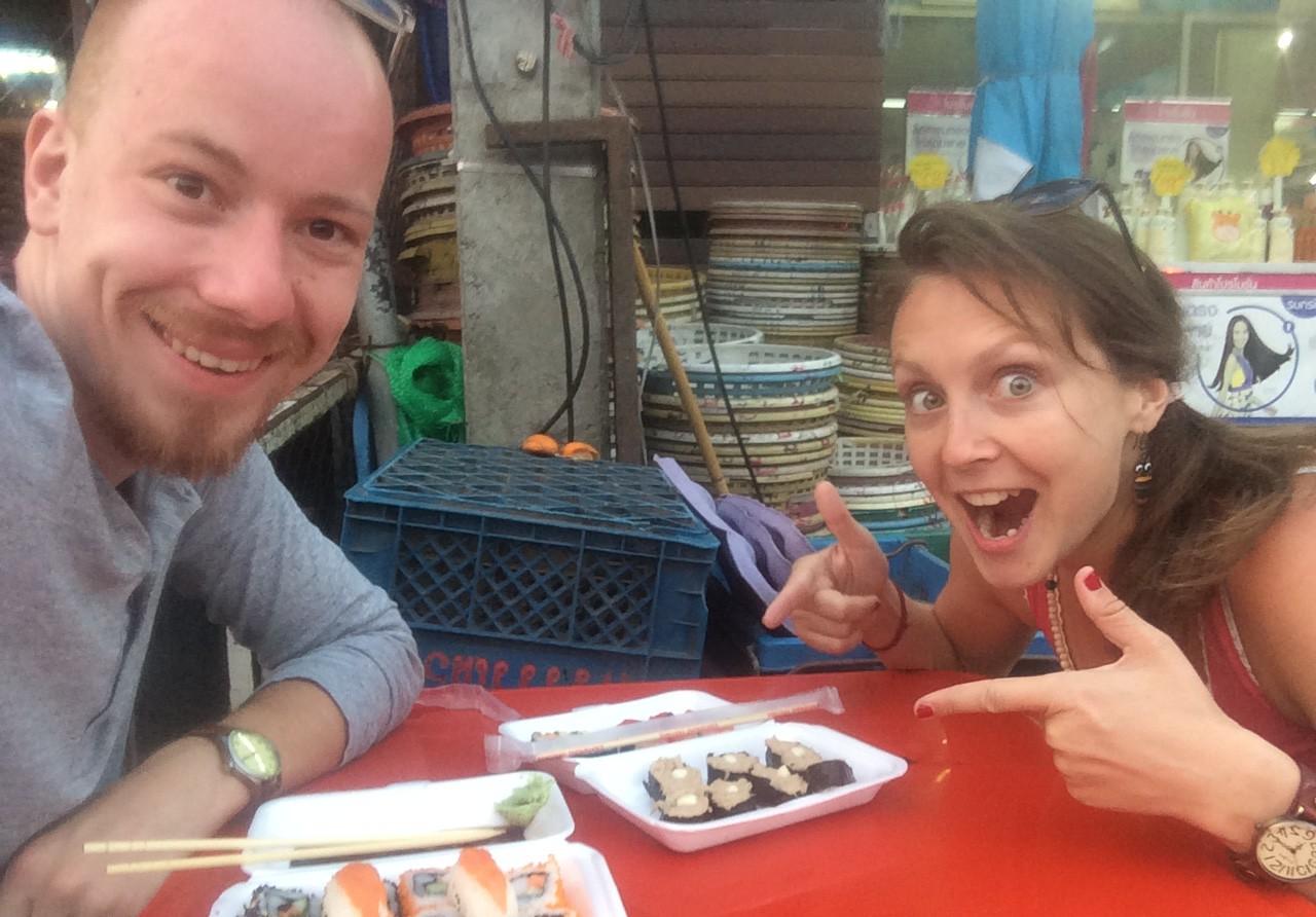 Digitální nomádi se stravují v Chaing Mai