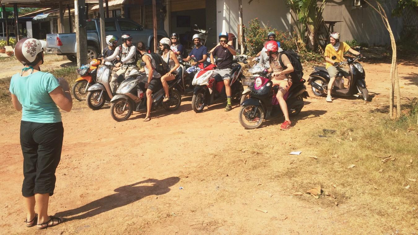 Digitální nomádi jedou na výlet na Koh Lantě