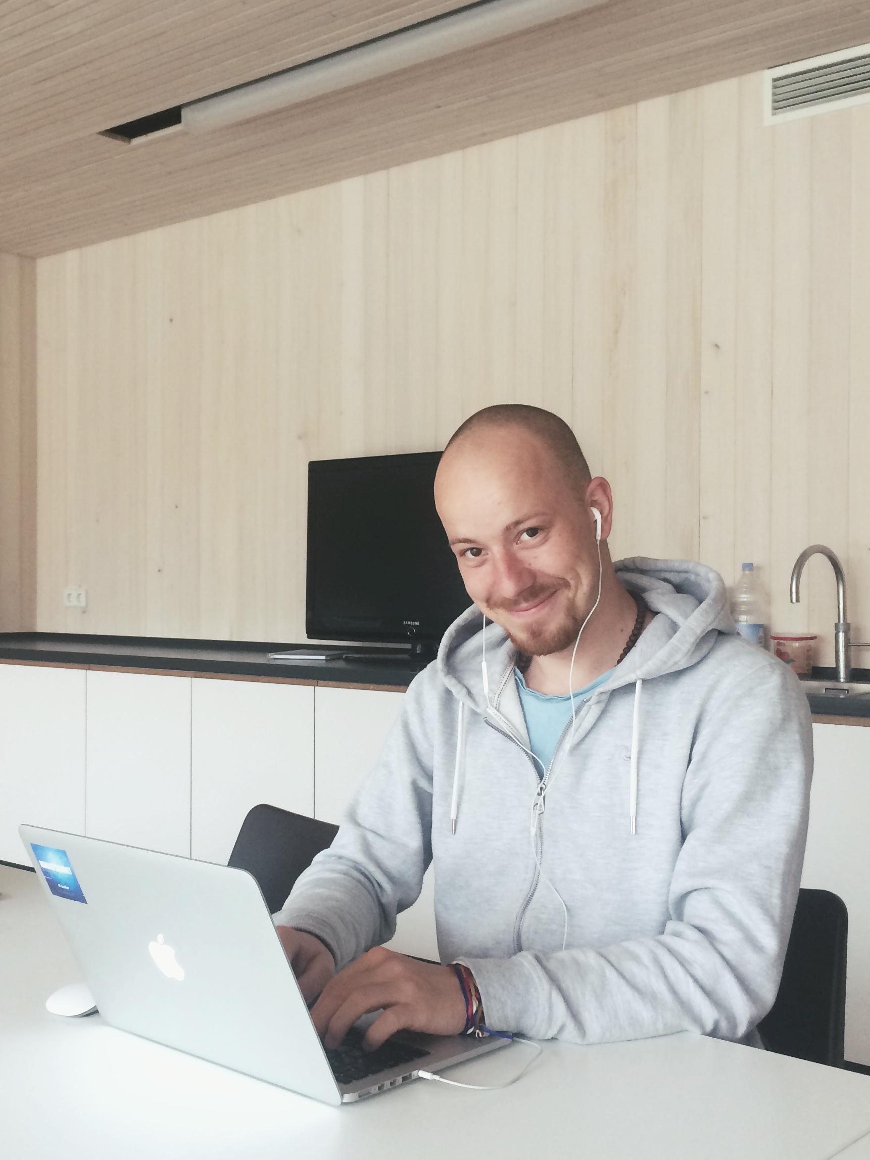 Digitální nomád Robert Sládek