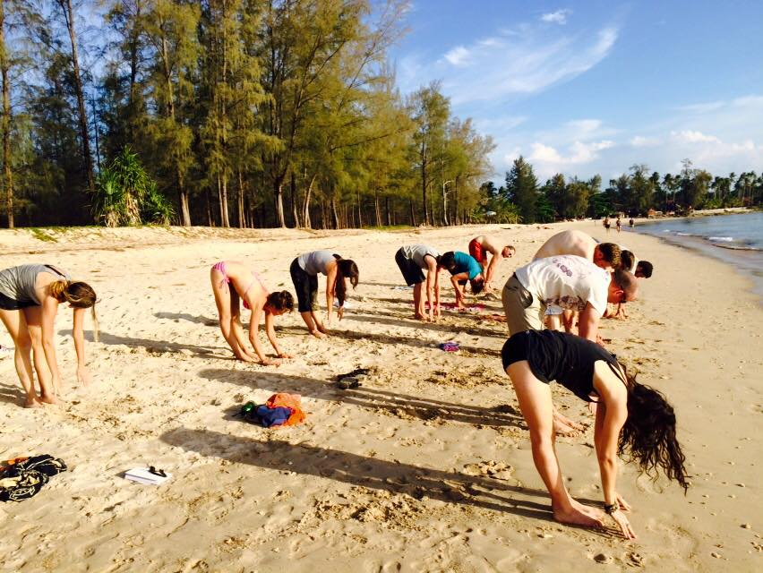 Digitální nomádi cvičí jógu