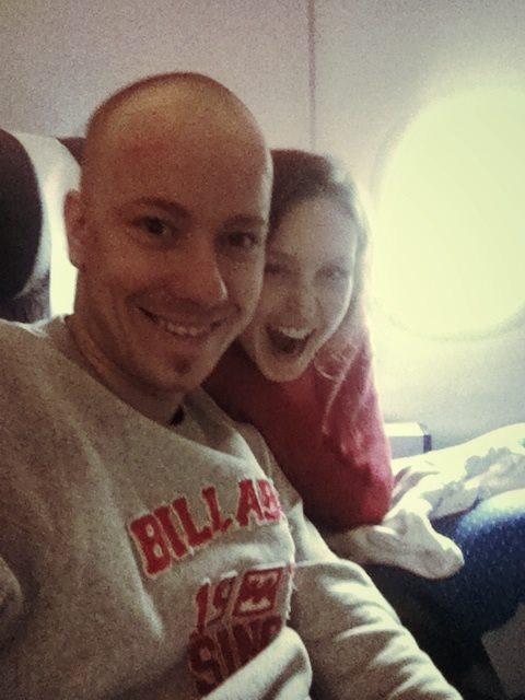 Digitální nomádi v letadle